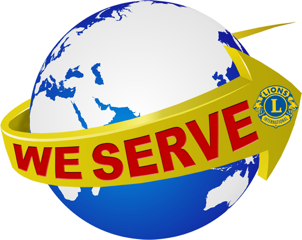 lions we serve week logo